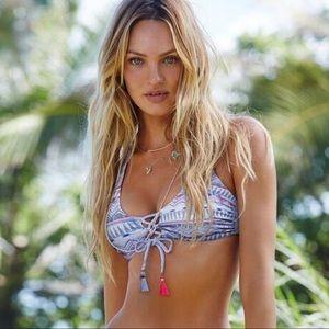 Victorias Secret Reversible Aztec/Tie Dye Bikini